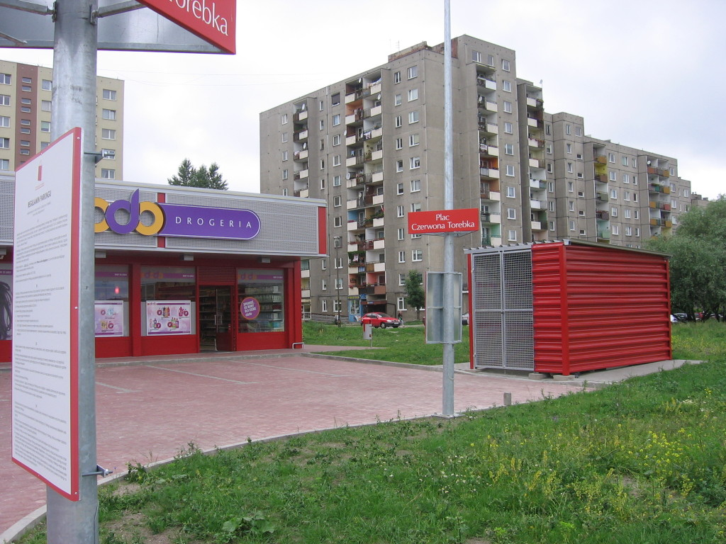 """04 Wypożyczalnia filmów DVD """"ALFA"""" 45-304 Opole ul. Sieradzka 3 Malinka lokal"""